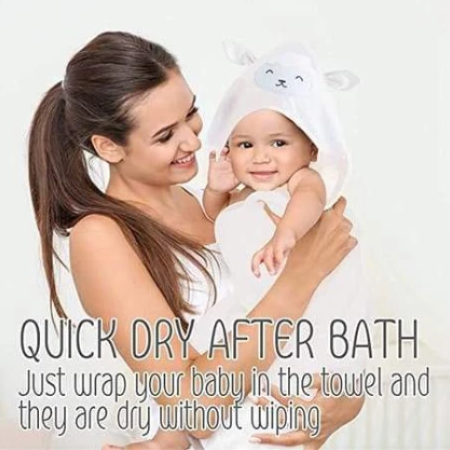 Find the Best Organic Cotton Baby Hooded Towels Online